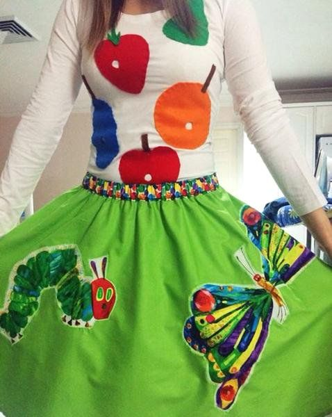 The Hungry Caterpillar Costume