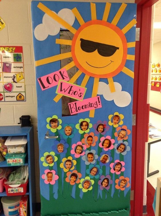 classroom spring bulletin boards