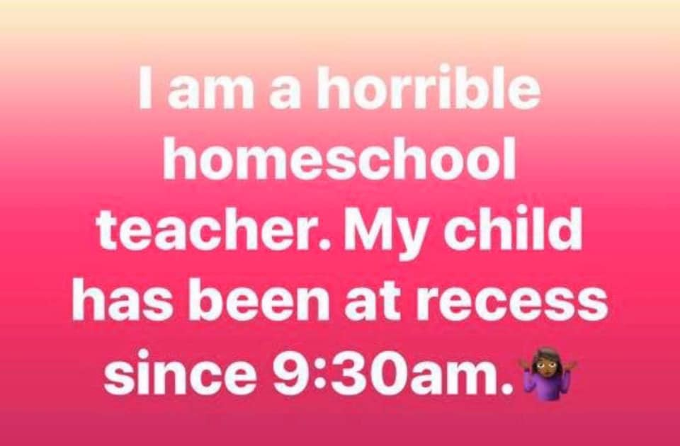 Homeschooling kids